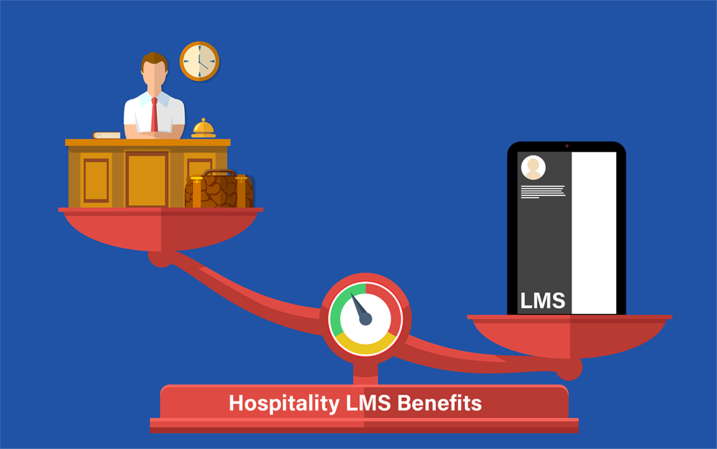 5 Benefits of using LMS in Hospitality