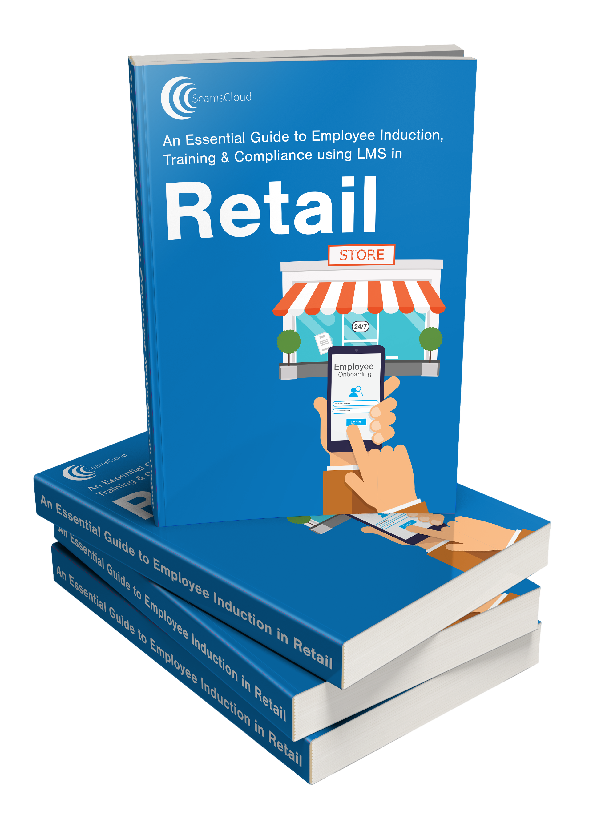 Retail eBook Stack Image