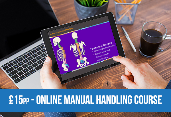 Manual Handling for only £15pp