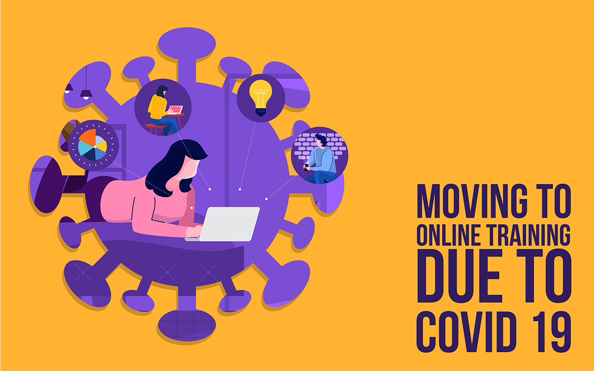 Moving to online training due to covid 19